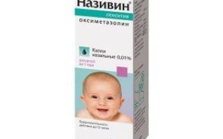 Називин детский — инструкция по использованию, дозировка и схема применения