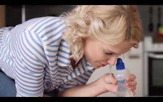 Долфин для промывания носа для детей: инструкция по применению