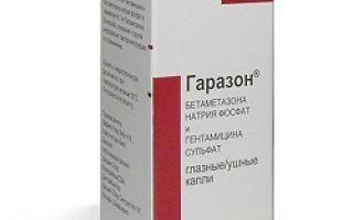 Гаразон — способ применения и дозы препарата, механизм действия