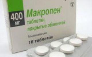 Амосин в лечении гайморитов — показания к применению лекарства