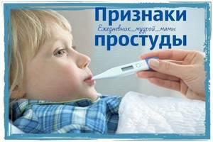 Простуда первые признаки и основные симптомы, лечение и профилактика
