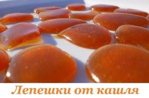 Медовая лепешка от кашля - проверенные рецепты для детей