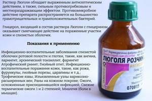 Инструкция по применению - Люголь спрей назначение и особенности использования антисептического препарата