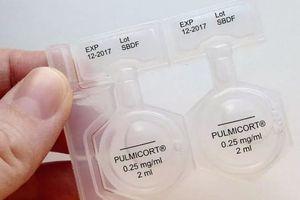Пульмикорт для ингаляций для детей - инструкция, дозировка для небулайзера