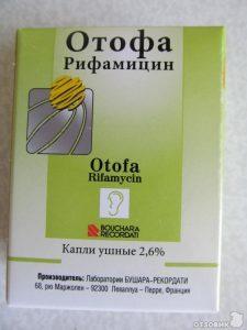 Ушные капли Отофа инструкция по применению для детей и взрослых