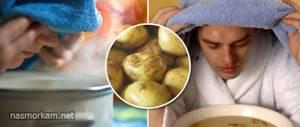 Дышать над картошкой польза и вред: процедура ингаляции