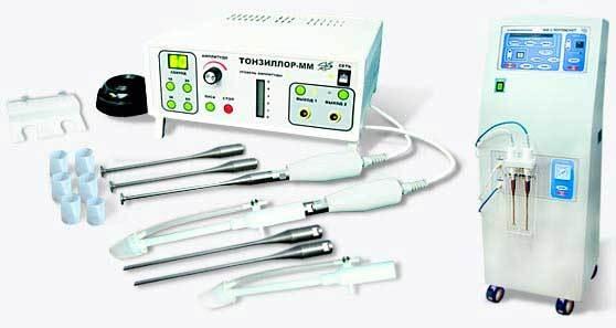 Лечение на аппарате Тонзиллор, эффективно ли промывание миндалин аппаратом Тонзиллор