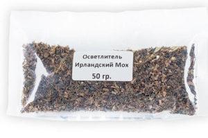 Ирландский мох от кашля, инструкция по применению ирландского мха от кашля