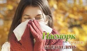 Как лечить насморк в домашних условиях и как избавиться от соплей