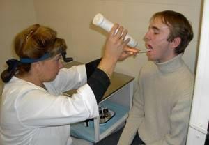 Криодеструкция миндалин - замораживание гланд жидким азотом