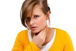 Что-то мешает в горле ощущение инородного тела - причины и лечение