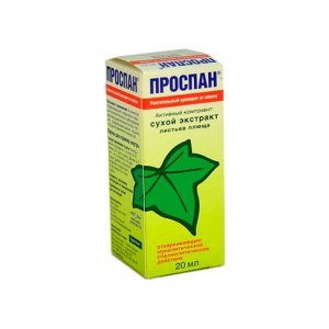 Проспан сироп от кашля инструкция, цена, отзывы