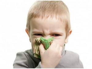 Отек слизистой носа у ребенка - медикаментозный способ лечения