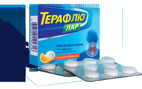 Спрей Терафлю ЛАР инструкция по применению для горла, отзывы
