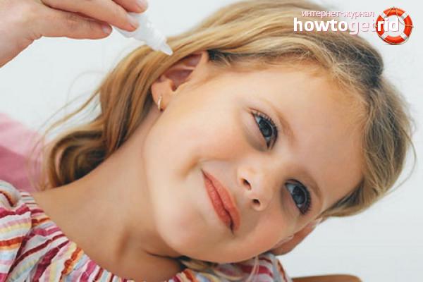 Почему вытекают ушные капли когда встаешь. Как правильно закапать капли в уши
