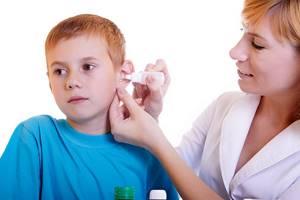 Борная кислота при отите у детей комаровский