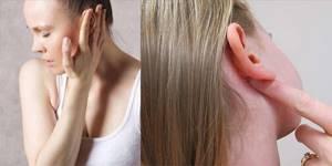 Лимфоузел под ухом воспалился причины, симптомы, лечение