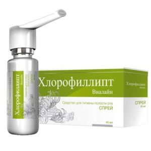 Хлорофиллипт масляный инструкция по применению раствора