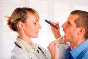 Белый налёт на миндалинах гландах. Причины и лечение